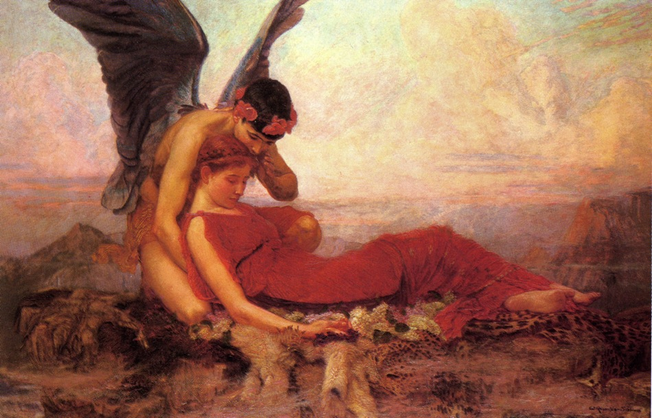 the greek god of sleep description essay A midsummer night's dream is a stage comedy centering on as the character description of theseus points roman name for the greek god of love.