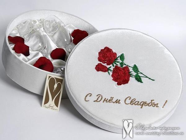 Подарки с днем бракосочетания